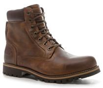 Schuhe Schnürstiefeletten, Nubukleder, mittel