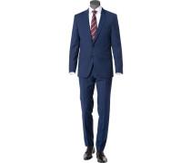 Anzug Huge-Genius, Slim Fit, Schurwolle Super100s