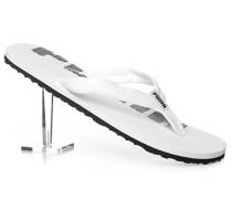 Schuhe Zehensandalen, Textil, -grau