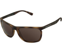 Brillen Sonnenbrille, Kunststoff,  meliert