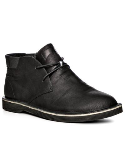 Camper Herren Schuhe Stiefeletten, Glattleder