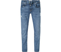 Jeans Hatch, Slim Fit, Baumwoll-Stretch, hell