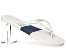 Schuhe Zehensandalen, Gummi, -dunkelblau gemustert