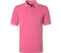 Polo-Shirt, Baumwoll-Piqué, pink