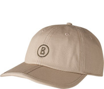 Cap, Baumwolle, taupe