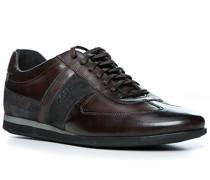 Schuhe Sneaker, Leder, dunkel