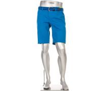 Hose Bermudashorts Earnie, Regular Slim Fit, Mikrofaser wasserabweisend