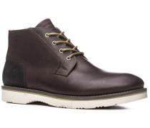 Schuhe Schürstiefeletten, Leder