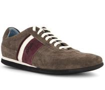 Schuhe Sneaker, Leder, taupe
