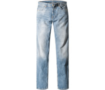 Jeans Venice, Regular Fit, Baumwoll-Stretch, hell