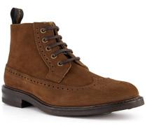 Schuhe Schnürboots, Leder wasserabweisend, mittel