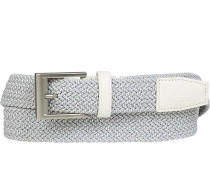 Gürtel weiß-, Breite ca. 3 cm
