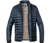 Steppjacke, Casual Fit, Mikrofaser, jeans