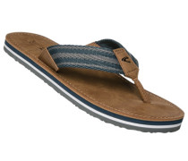 Schuhe Zehnsandale, Textil