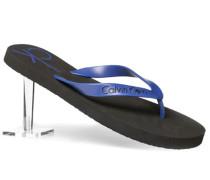 Schuhe Zehensandalen, Gummi, kobalt