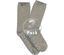 Stoppersocks, Wolle, taupe