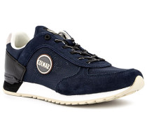 Schuhe Sneaker, Veloursleder, navy