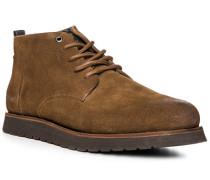 Schuhe Desert Boots, Veloursleder, hell