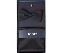 Krawatte Schleife mit Einstecktuch, Schurwolle