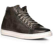 Schuhe Sneaker, Leder, anthrazit