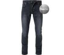 Jeans, Shape Fit, Baumwoll-Stretch, anthrazit