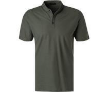 Polo-Shirt, Baumwoll-Jersey, khaki