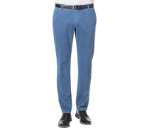 Hose Chino, Regular Fit, Baumwolle, rauch