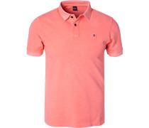 Polo-Shirt, Baumwoll-Piqué, leucht