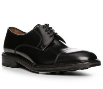 Schuhe Derby, Glattleder