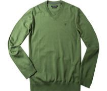 Pullover, Baumwolle, lind