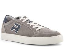 Schuhe Sneaker, Veloursleder, stein