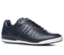 Schuhe Sneaker, Glattleder, nacht