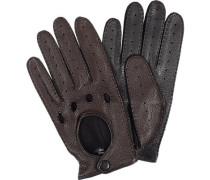 Autofahrer-Handschuhe Hirschnappa mocca