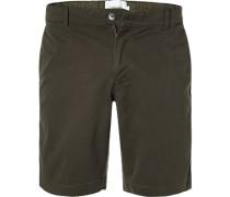 Hose Bermudashorts, Slim Fit, Baumwoll-Stretch