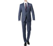 Anzug, Shaped Fit, Schurwolle Super130 REDA
