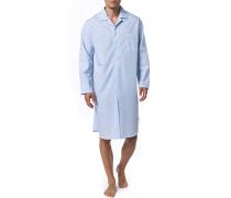 Nachthemd, Baumwolle,  gestreift