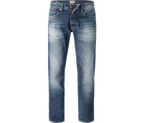 Jeans, Straight Fit, Baumwolle, denim