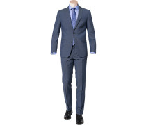 Anzug, Modern Fit, Schurwolle,  meliert