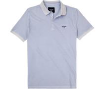 Polo-Shirt, Baumwoll-Pique, flieder