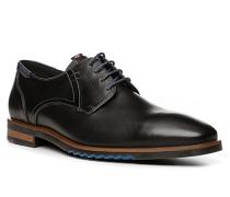 Schuhe Derby Deno, Kalb-Schafleder