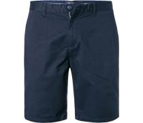 Hose Shorts, Baumwolle, navy