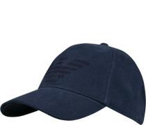 Cap, Baumwolle, navy