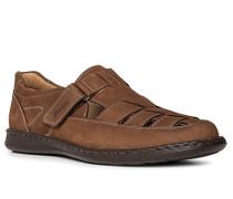 Schuhe Slipper, Kalbleder, hell