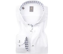 Hemd, Slim Fit, Oxford, Extra langer Arm