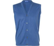Pullover Strickweste, Seide-Baumwolle