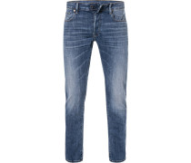 Jeans 3301, Slim Fit, Baumwoll-Stretch Elto Superstretch Denim 10,2oz
