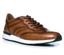 Schuhe Sneaker Ascar, Kalbleder, cognac