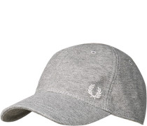 FRED PERRY, Cap, Baumwolle,  meliert