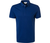 Polo-Shirt, Regular Fit, Baumwoll-Piqué, royal