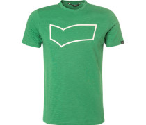 T-Shirt, Baumwolle, smaragd